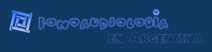 FONOAUDIOLOGÍA EN ARGENTINA