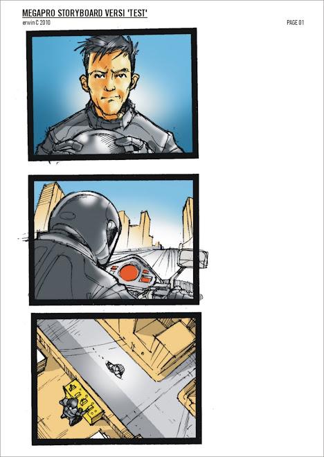 MEGAPRO 2 Storyboard