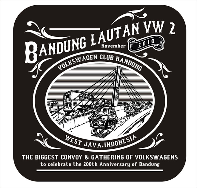 LOGO &#39;Bandung lautan VW 2010&#39;
