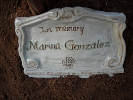 Plaque in Forever Memory Garden