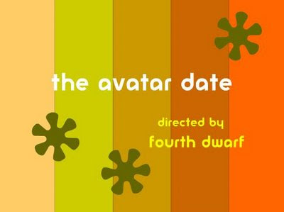 title screen for 'The Avatar Date'