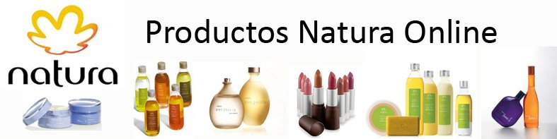 Productos Natura Online