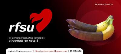 RFSU · Els primers preservatius comercials etiquetats en català