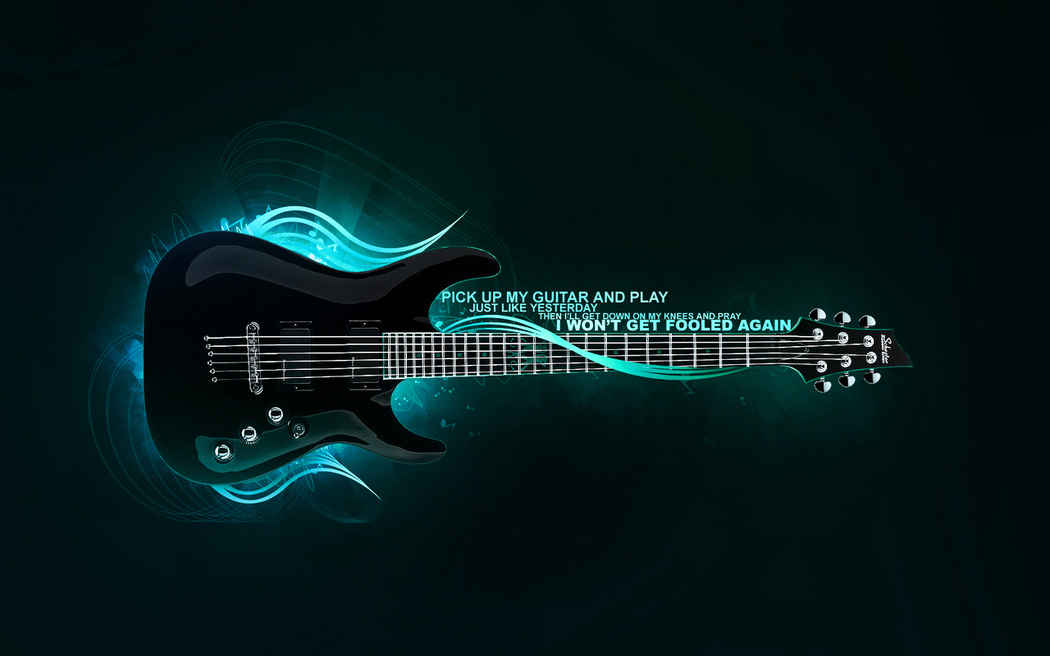 Guitar Wallpaper - Guitar Mantra 1050x656. Guitar Mantra 1050x656 Wallpaper
