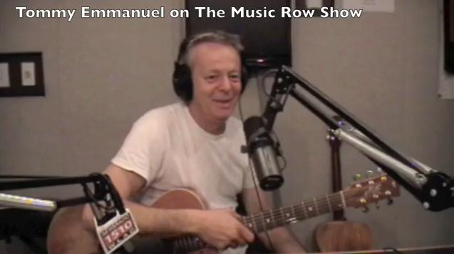 Tommy Emmanuel - Lesson on The Music Row Show