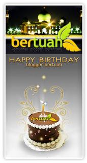 Award Komunitas Blogger Bertuah