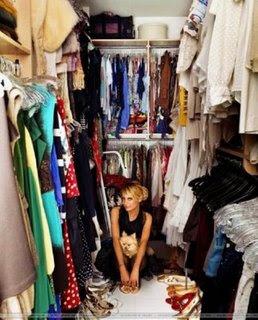 Меня мучает один вопрос, откуда в моем шкафу берутся вещи, которые мне...