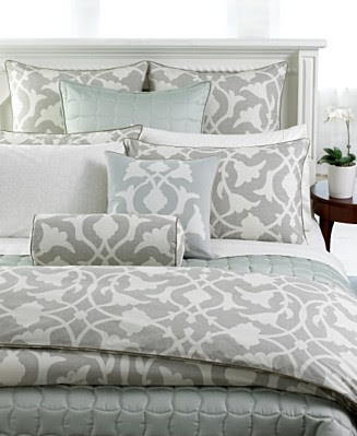 Barbara Barry's Poetical Bedding Collection at Macy's illustrates just this.