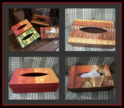 cajas de pañuelos