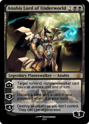 Deathmarked: Create Your Own Planeswalker! Planeswalker