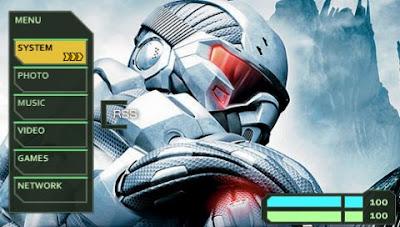 Crysis psp themes