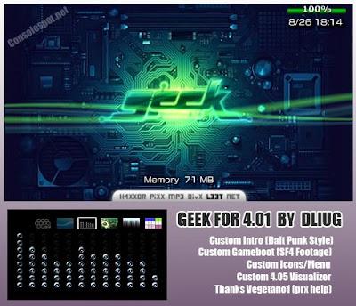 Geek psp themes