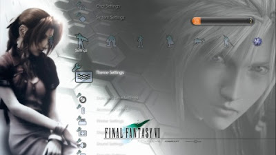 Final Fantasy VII games Final Fantasy VII ps3 theme theme ps3