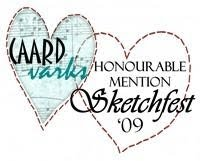 Honourable Mention!