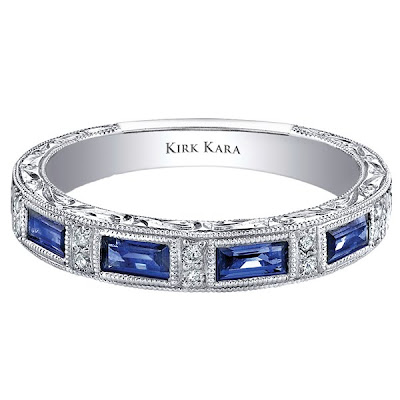 Wedding Rings  Sapphires on Luxury Blue Sapphire Wedding Rings