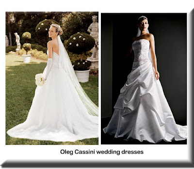 Oleg cassini wedding dresses