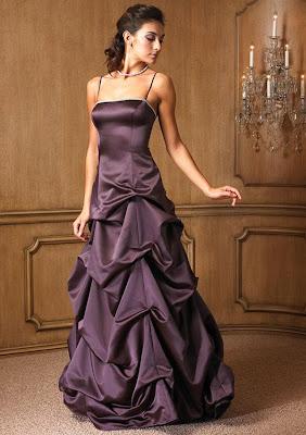 evening wedding dress
