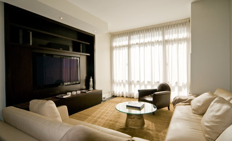 There Are Many Ways To Work A TV Into Your Home. New York City Interior  Designer, Inson Wood Of Inson Dubois Wood LLC Shows Us How His Design Firm  Manages ...