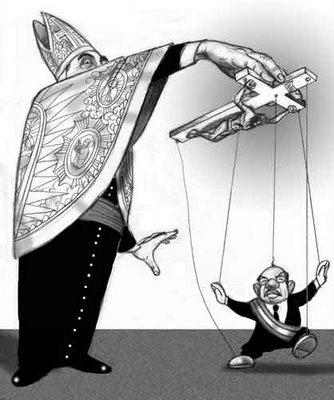 corrupción, manipulación y mentiras de la iglesia católic