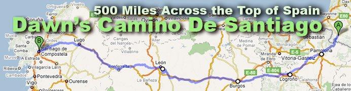 Dawn's Camino De Santiago