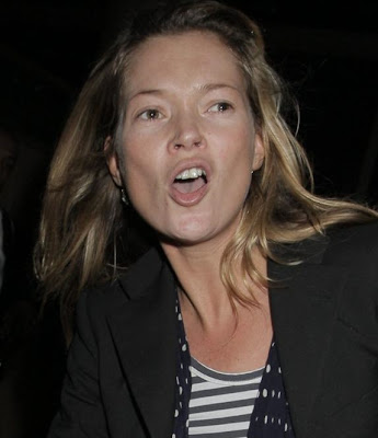 Kate Moss arriving LAX