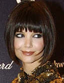 Katie Holmes new hairstyle