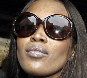 Naomi Campbell arrested