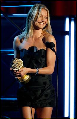 Cameron Diaz MTV Movie Awards 2007