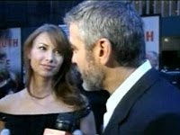 George Clooney loves Sarah Larson - true!