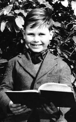 Elton John as a boy