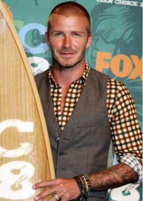 David Beckham at Teen Choice Awards