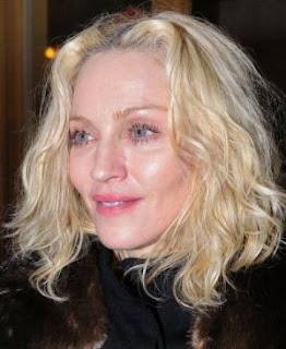Madonna nearly 50