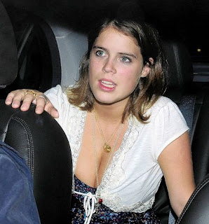 Princess Eugenie cleavage