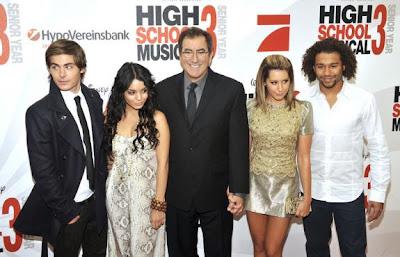 Zac Efron, Vanessa Hudgens, Kenny Ortega, Ashley Tisdale, Corbin Bleu