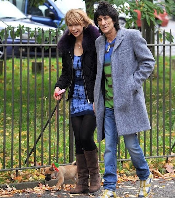 Ekaterina Ivanova and Ronnie Wood