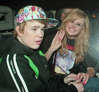 Diana Vickers and an upset Eoghan Quigg