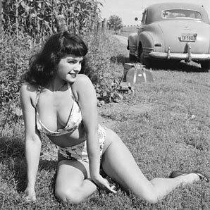 Bettie Page bikini photo
