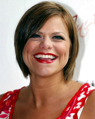Jade Goody in happy times