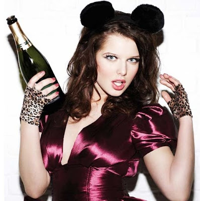 Helen Flanagan party girl