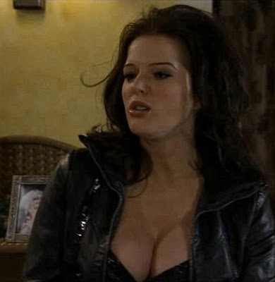 Helen Flanagan basque cleavage