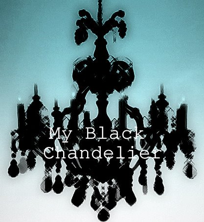 My Black Chandelier