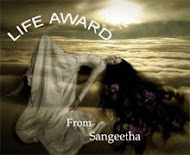 Life Award from Sangeetha