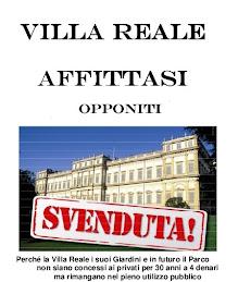 Firma per la Villa Reale