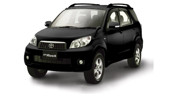 Black Toyota Fans New Rush Color