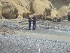 Medición de capacidad de carga efectiva de playa