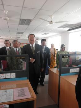 Lawatan Pengarah Pendidikan Negeri Perak dan PPD ke SKTT