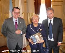Homenaje a Luisa Quiroga