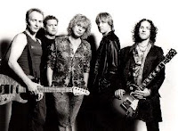 Band Photo Shoot of Def Leppard