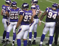 Vikings Defense - Will the Williams Wall and Jared Allen be too much for Jay Cutler and the Chicago Bears?