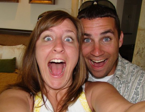 Christin and Ricky